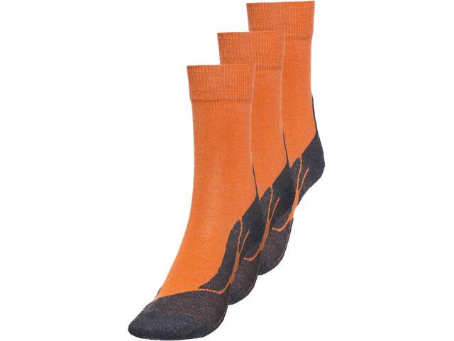 axant 73 Merino Socken 3er Pack Kinder orange